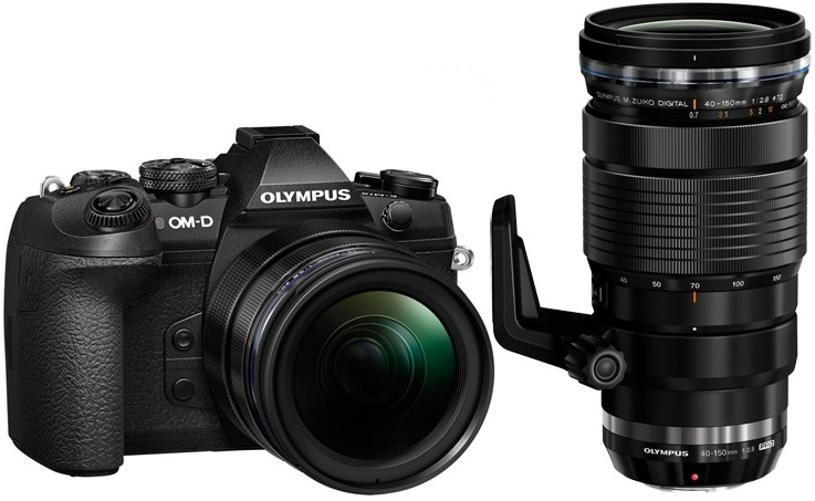 цена на Olympus OM-D E-M1 Mark II Kit ( E-M1 Mark II Body black + EZ-M1240PRO + EZ-M4015 PRO )