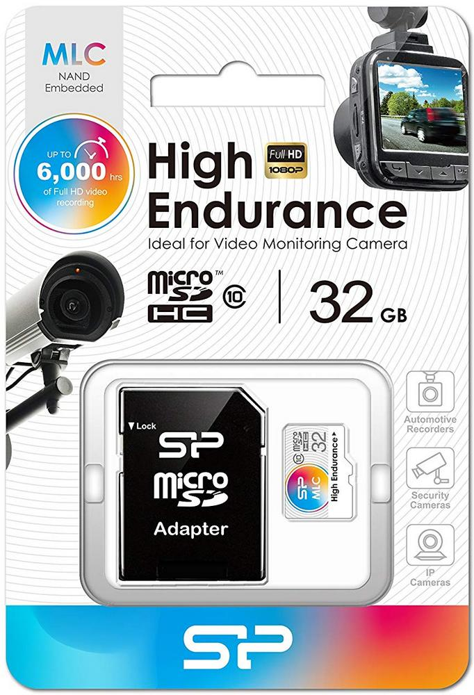 Silicon Power High Endurance microSDHC Class 10 UHS-I U3 32GB