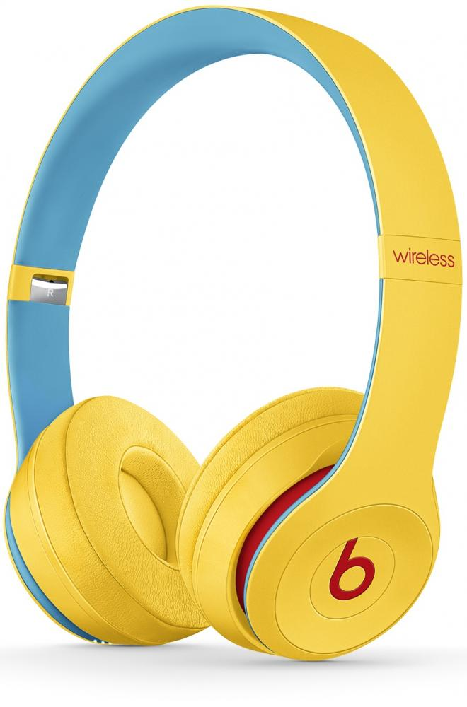 Beats Solo3 Club collection (желтый)