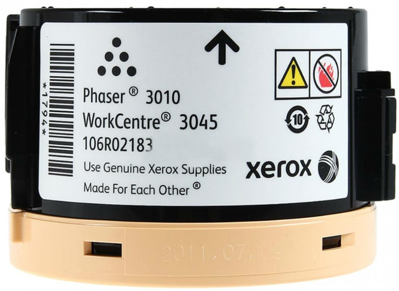 Xerox 106R02183 для WorkCentre 3045 (черный) картридж nv print 106r02183 для xerox phaser 3010 workcentre 3045 2300стр