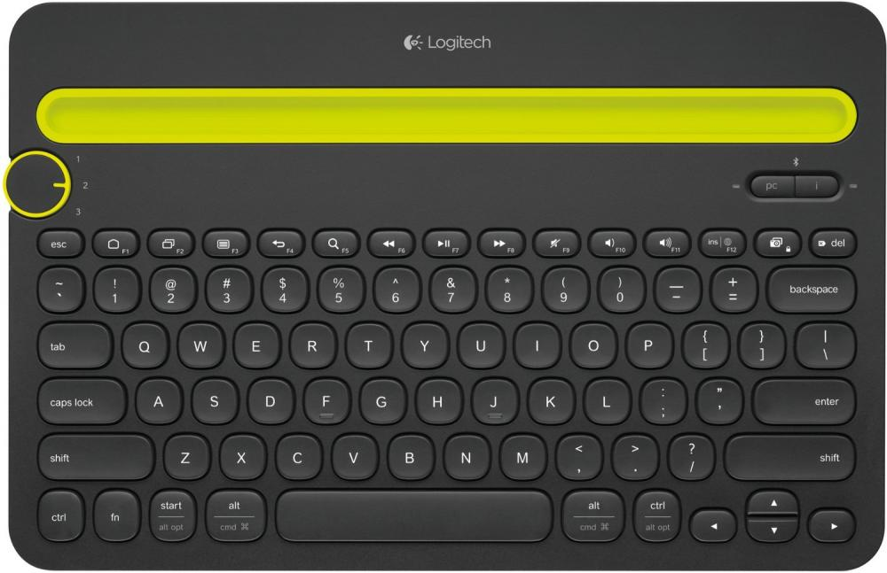 Logitech Bluetooth Multi-Device K480 (черный)