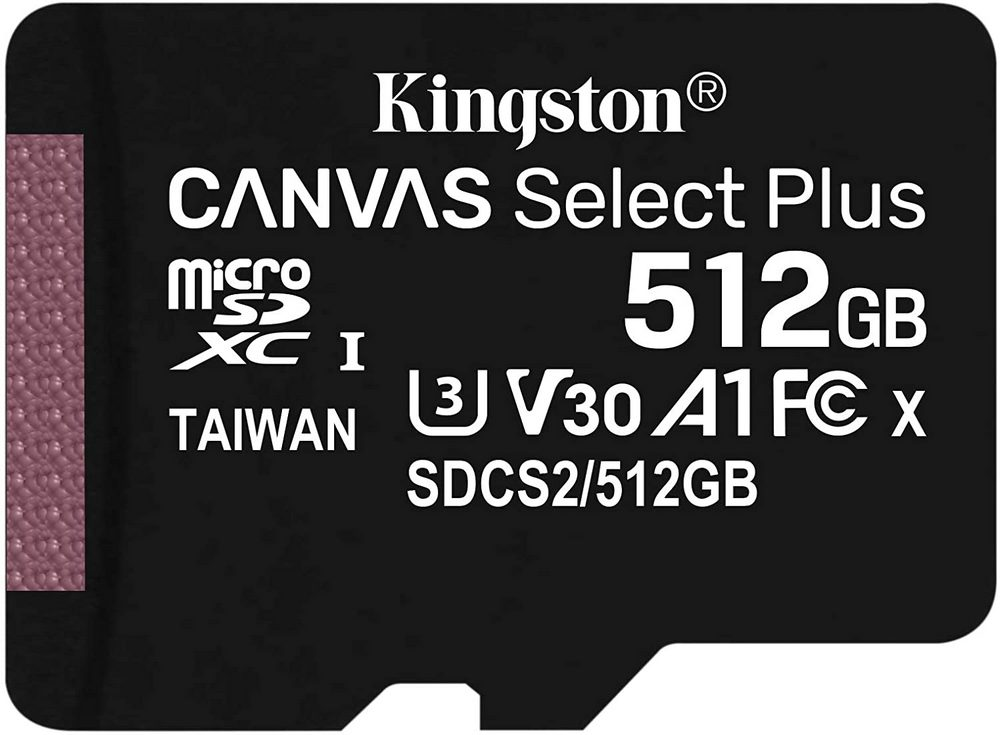 Kingston microSDXC Canvas Select Plus 512GB SDCS2/512GBSP
