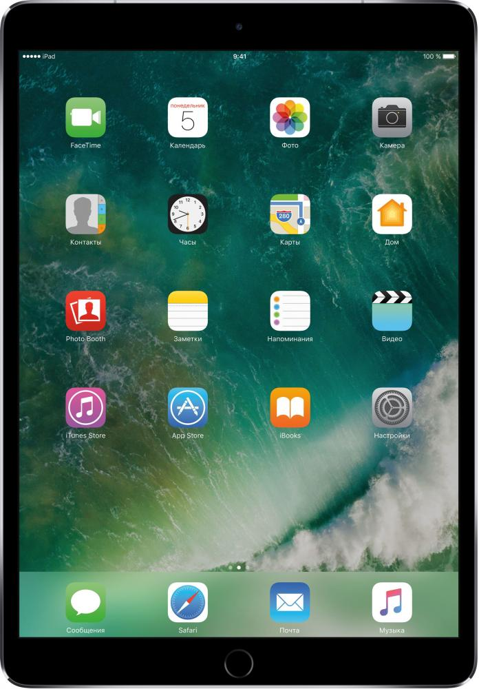 Apple iPad Pro 10.5 Wi-Fi + Cellular 256GB (серый космос)