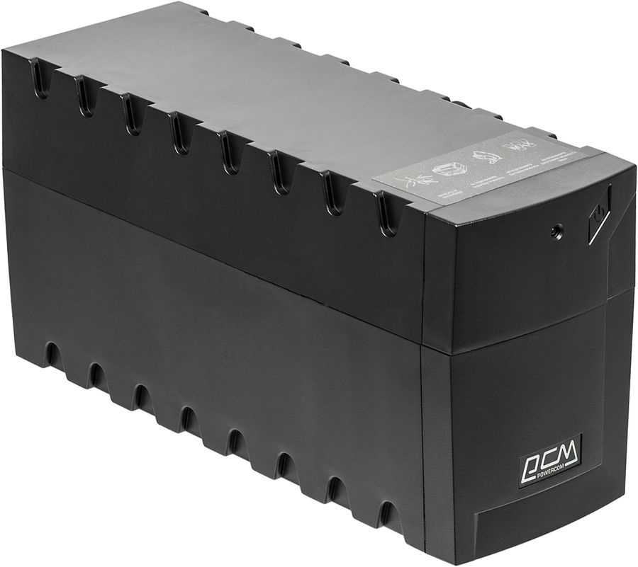 Powercom RPT-600A Raptor (серый) ибп powercom rpt 600a raptor 3 iec