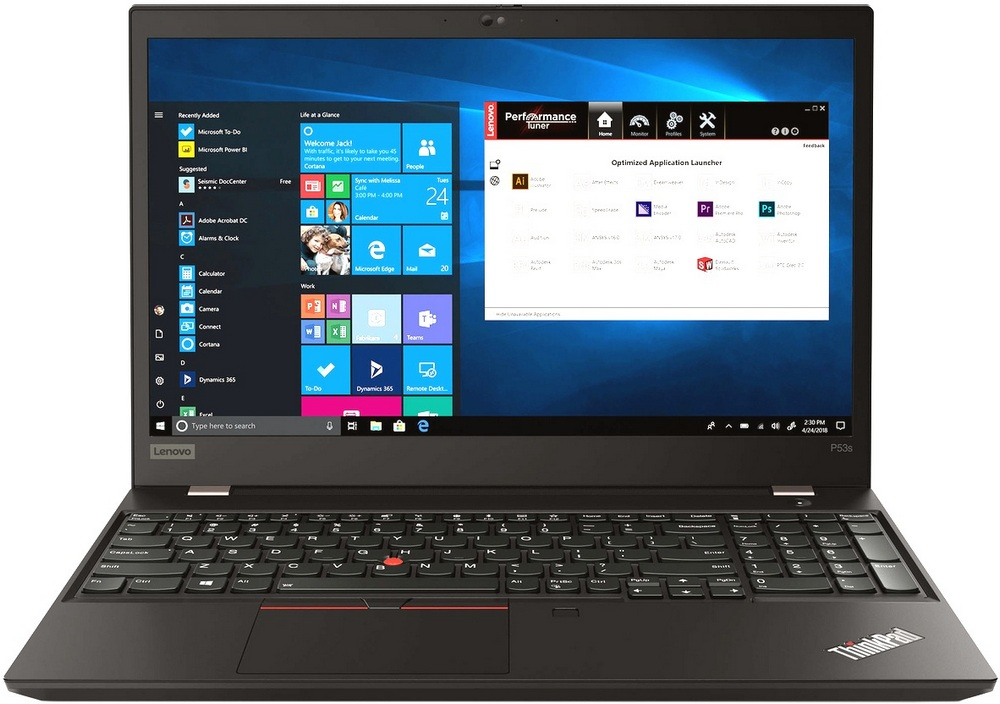 Lenovo ThinkPad P53s 20N6002RRT (черный)