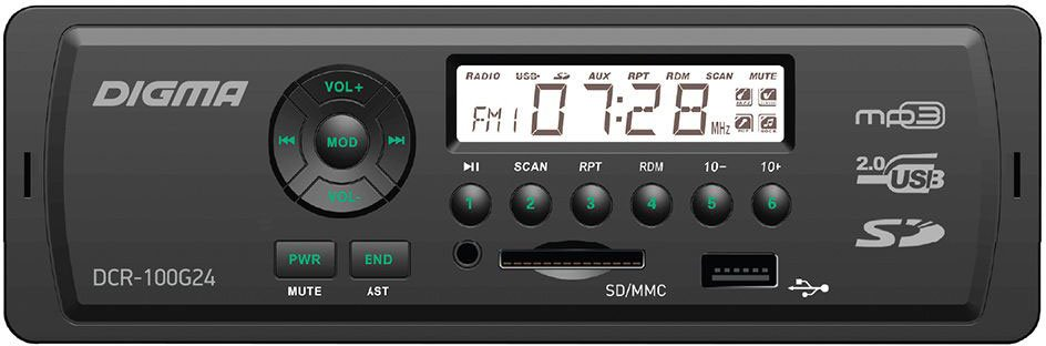 Digma DCR-100G24 rondell 377 symphonia