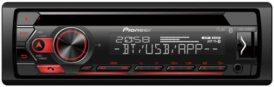 Pioneer DEH-S320BT rondell 377 symphonia