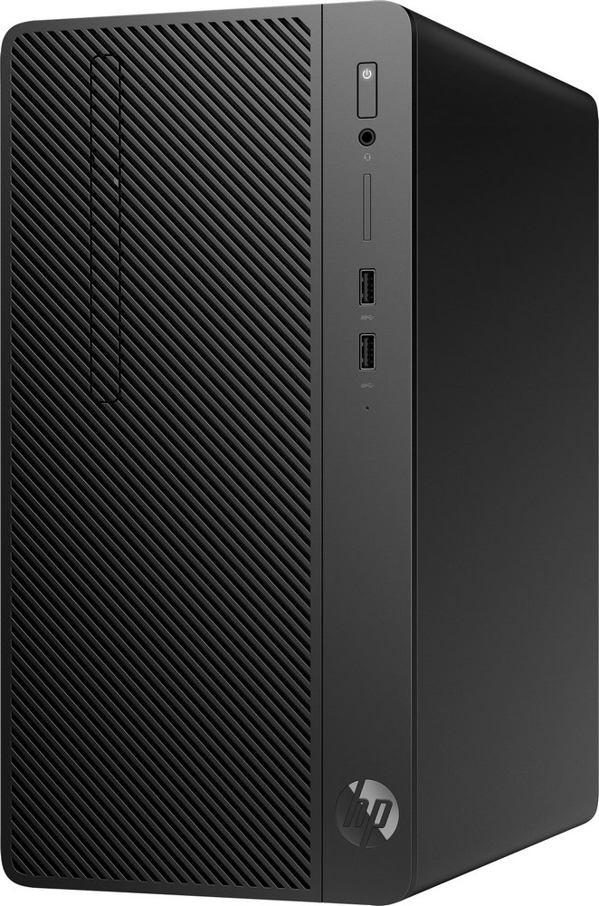 Системный блок HP 290 G2 MT 4VF84EA (черный) фото