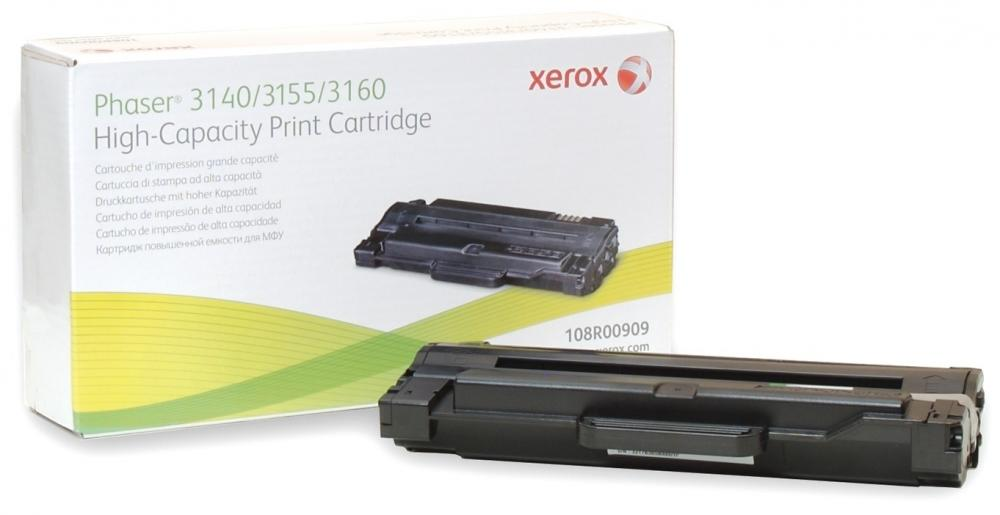 Xerox 108R00909 для Phaser 3140 (черный) картридж xerox 106r01075 yellow для phaser 6300 6350 4000стр