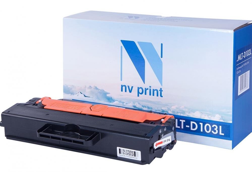 NV-Print MLT-D103L (черный) футболка print bar metal abstraction