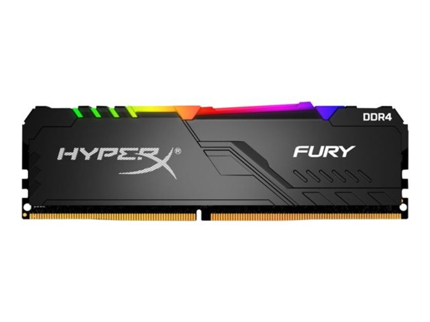Kingston DDR4 32GB HyperX Fury RGB HX426C16FB4AK2/32 (черный)