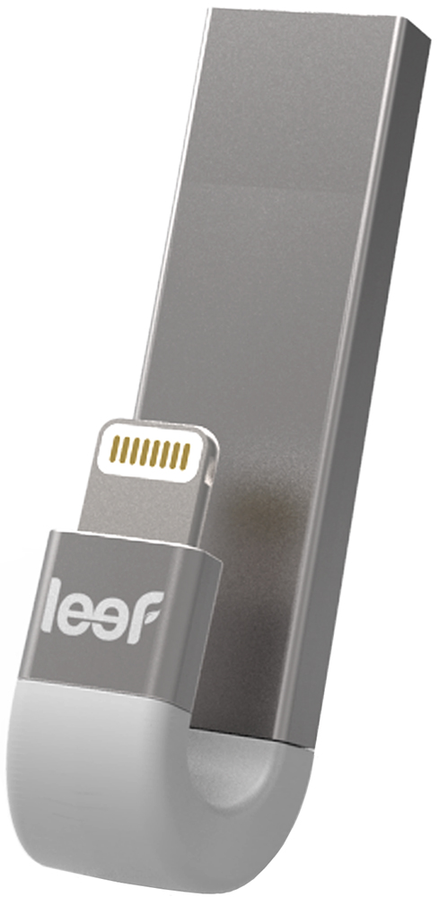 Leef iBridge 3 128Gb (серебристый) leef ibridge 3 64gb черный