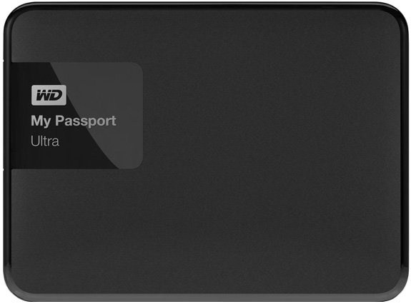"WD My Passport Ultra 1TB 2.5"" (черный)"