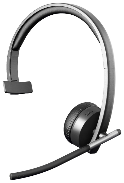 Logitech Wireless Headset Mono H820e (черный)